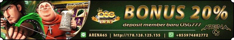 Situs Slot OSG777 Online Terbaik