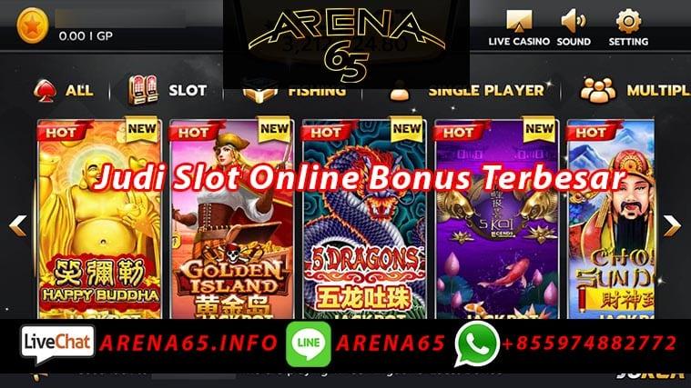 Judi Slot Online Bonus Terbesar