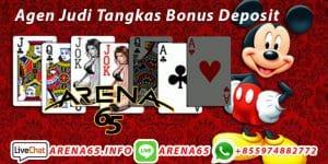 Agen Judi Tangkas Bonus Deposit
