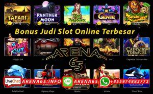 Bonus Judi Slot Online Terbesar