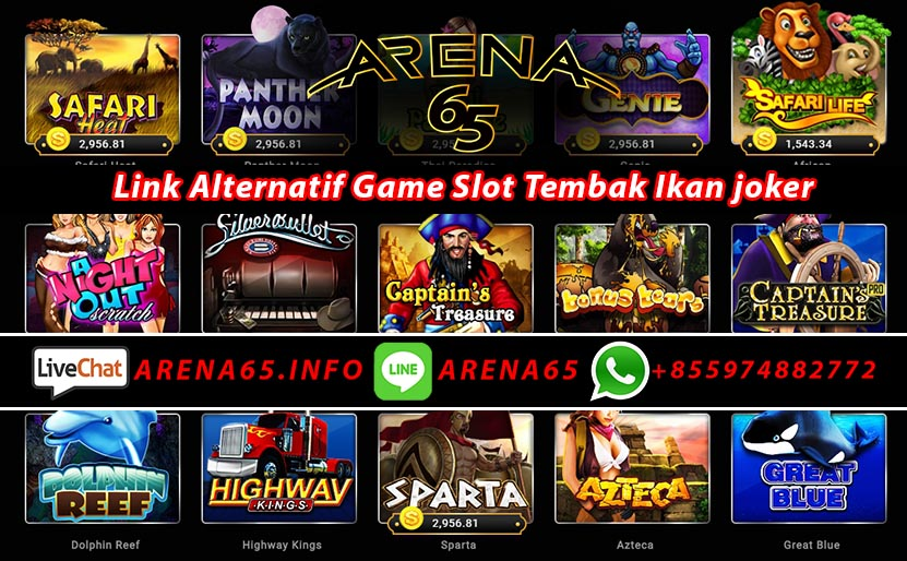 Link Alternatif Game Slot Tembak Ikan joker