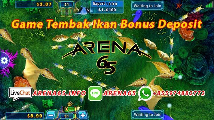 Game Tembak Ikan Bonus Deposit