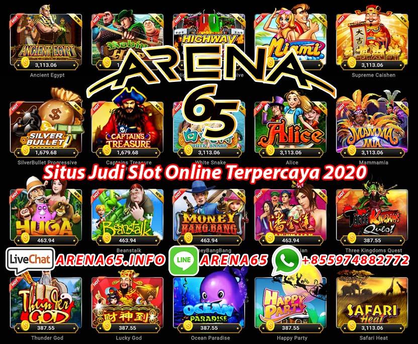 Website Judi Slot Online Terpercaya 2020