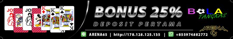 bonus deposit bola tangkas