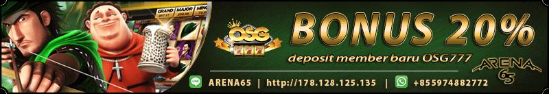 bonus deposit slot online joker123