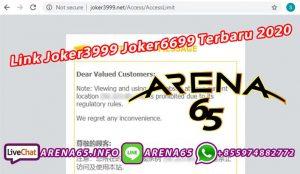 Link Joker3999 Joker6699 Terbaru 2020