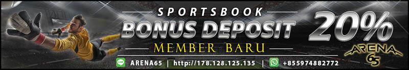 bonus deposit sbobet online terbesar