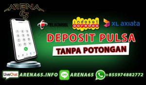 judi online deposit pulsa tanpa potongan