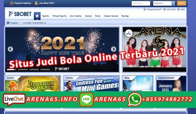 Situs Judi Bola Online Terbaru 2021